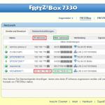 FRITZ!Box Navigation